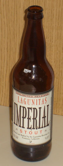 Lagunitas Imperial Stout bottle